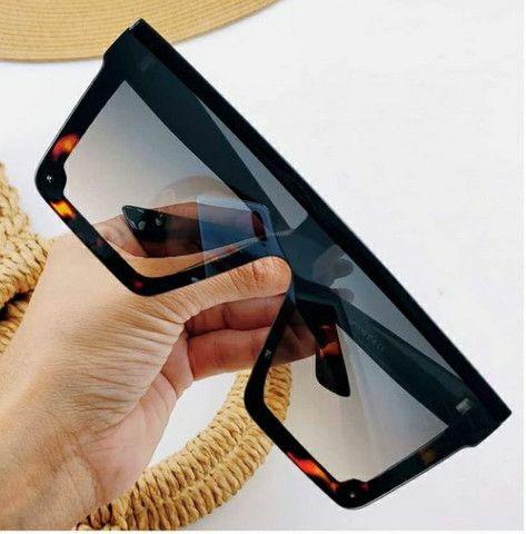 Óculos quadrado unissex top  - Foto 4