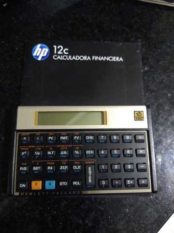 Calculadora financeira (semi-nova)
