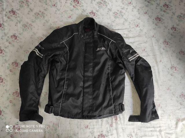 Casaco motociclista Shox Proteção tamanho G. Usado duas vezes apenas. - Foto 2