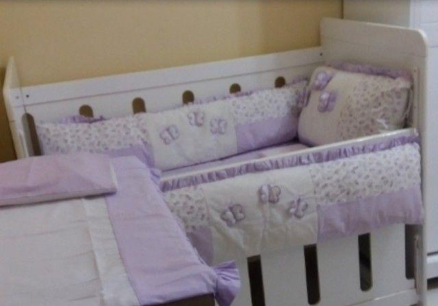 Berço mini cama + colchão