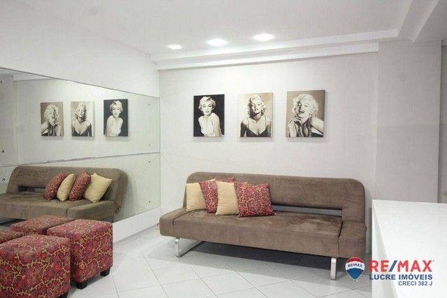 Apartamento com 1 dormitório à venda, 66 m² por R$ 310.000,00 - Cabo Branco - João Pessoa/ - Foto 9