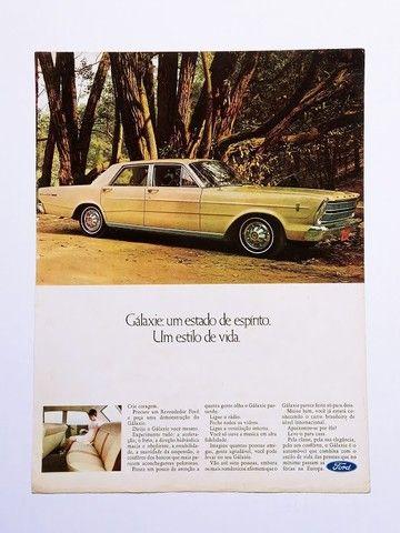 Ford Galaxie - Propaganda Antiga, Publicidade