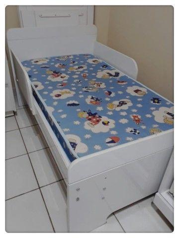 Berço mini cama + colchão - Foto 2
