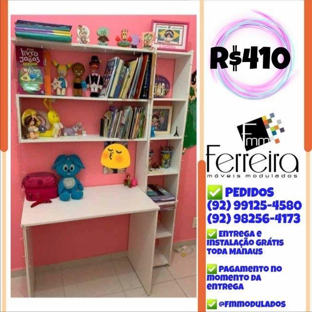 56. Promoção Kit Escritório = Mesa+Nicho+Prateleira+Torre :) - Foto 4