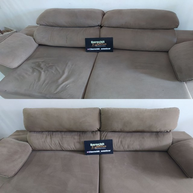 Lavagem higienização e Hipermibilizacao de sofá - Foto 5