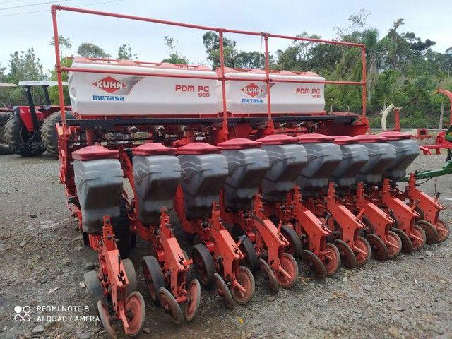 Plantadeira 9 linhas khun PDM PG900  2011 - Foto 2