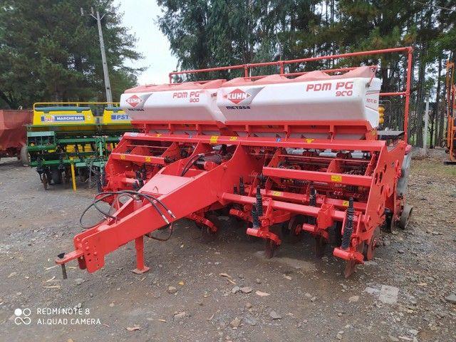 Plantadeira 9 linhas khun PDM PG900  2011 - Foto 5