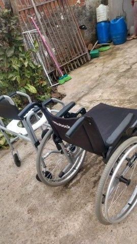 Cadeira De Rodas Ottobock + Cadeira De Banho - Foto 6