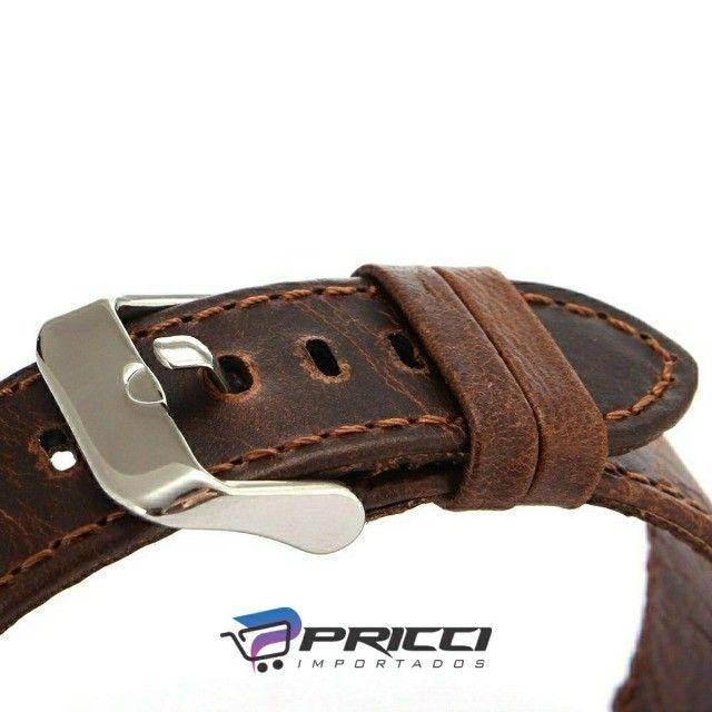 pulseira em couro para Miband 5 e Miband 6 - novas - Foto 4