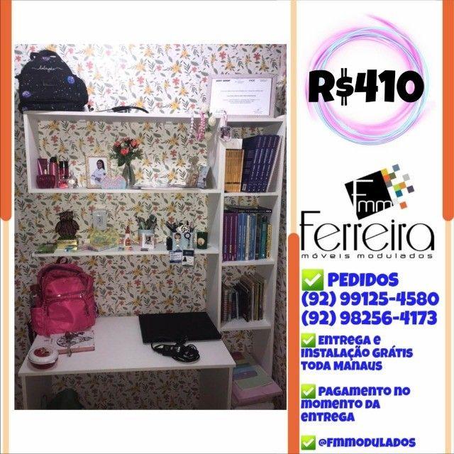 56. Promoção Kit Escritório = Mesa+Nicho+Prateleira+Torre :) - Foto 5
