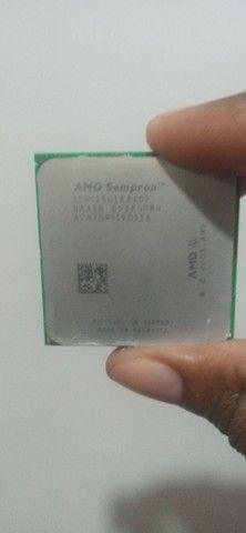 Processador amd2 e ddr2 1 GB - Foto 2