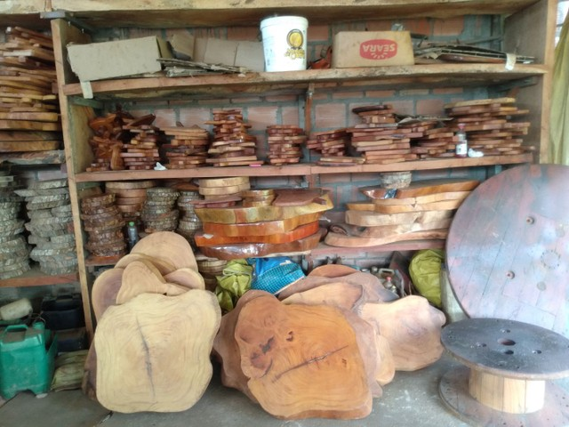 Móveis  e peças para sua casa rústicos em madeira de jaqueira - Foto 4