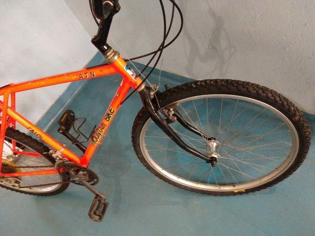 Caloi Moutain bike ATN antiga raridade - Foto 6
