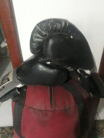 saco de pancada 90 cm, 2 luvas - Foto 3