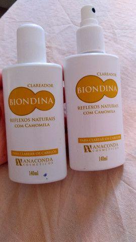 Biondina clareador para cabelos