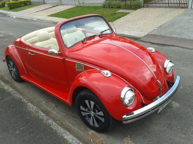 Vw - Volkswagen Fusca Cabriolet - Foto 9