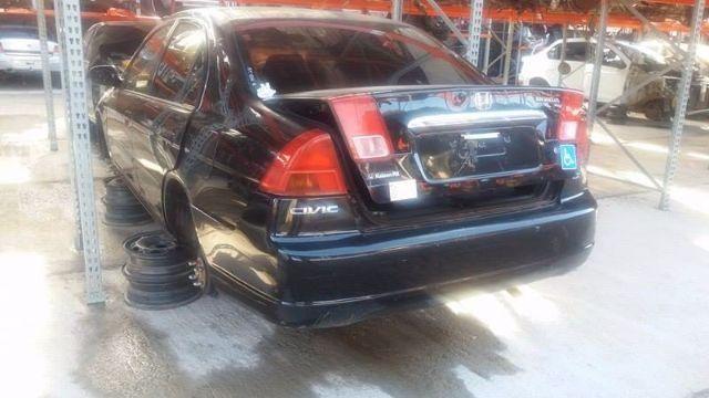 Peças usadas Honda Civic LX 2002 gasolina 115cv