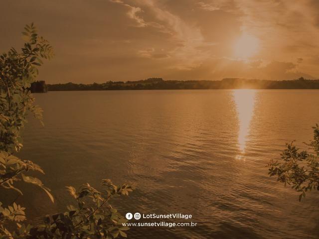 Casa no Lago! Terreno na Barragem de Ernestina é no Sunset Village - Foto 7