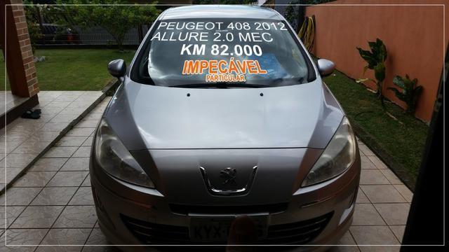 Peugeot 408 Allure 2012 2.0 + GNV e baixo Km. Leia o anúncio!