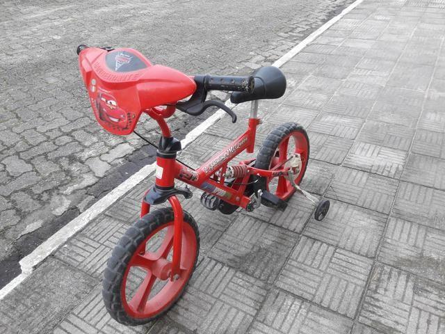 Vendo bicicleta carros aro 16 - Foto 3