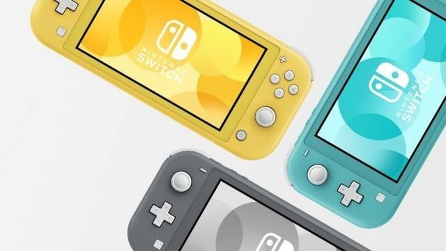 Console Nintendo Switch Lite - cinza/amarelo/turque