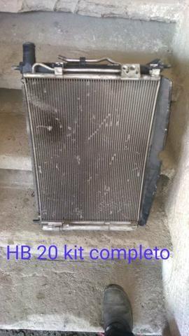 Kit Radiador HB20 1.6 automático