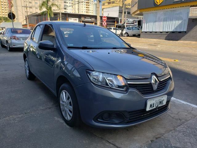 Renault Logan Expression 1.6 16/16 flex mec. cinza - Foto 2