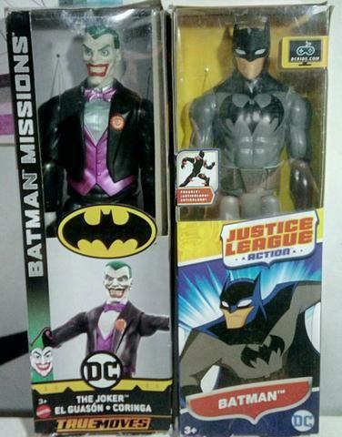 Bonecos Batman e Coringa Mattel