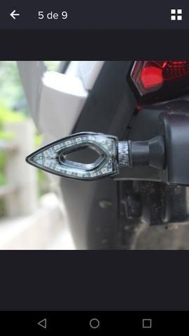 Pisca led para moto