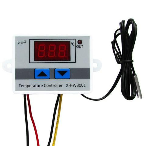 Controlador Temperatura Termostato Digital Chocadeira Estufa - Foto 3