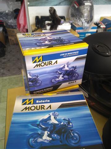 bateria moura mv12-e cb400 cb450 cb500 four entrega todo rio  - Foto 5