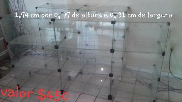Vitrine de loja toda de vidro - Foto 2