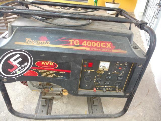 Gerador de energia para som de 4kva a gasolina - Foto 3
