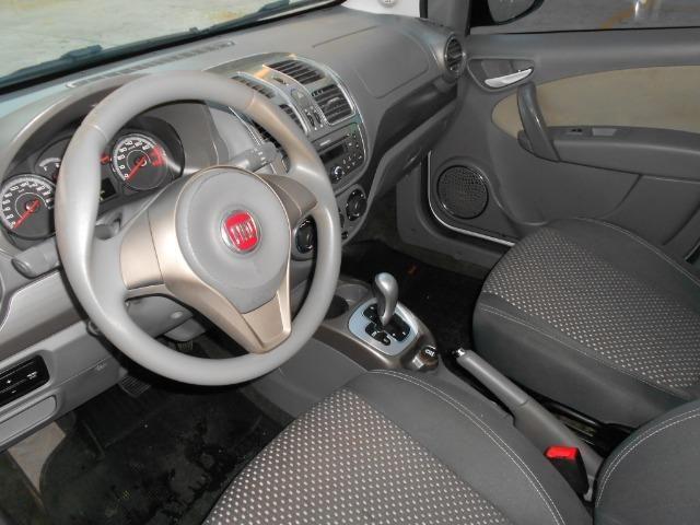 Fiat grand siena essence 1.6 flex 2012/2013 automatico completo novissimo - Foto 10