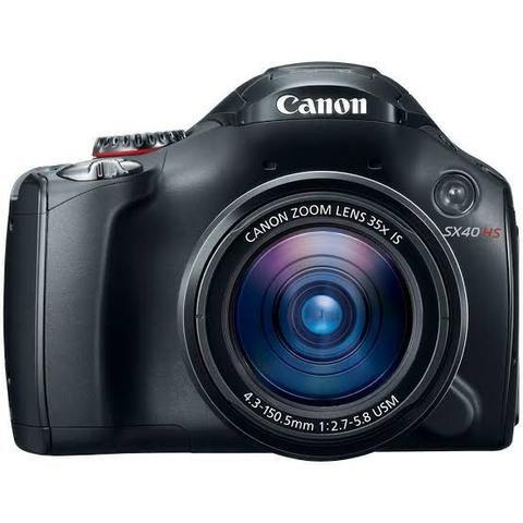 Camera Canon SX40 HS 12.1MP Semi-profissional