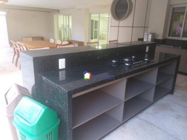 Apartamento com 4 dormitórios à venda, 261 m² por R$ 850.000,00 - Setor Oeste - Goiânia/GO - Foto 4