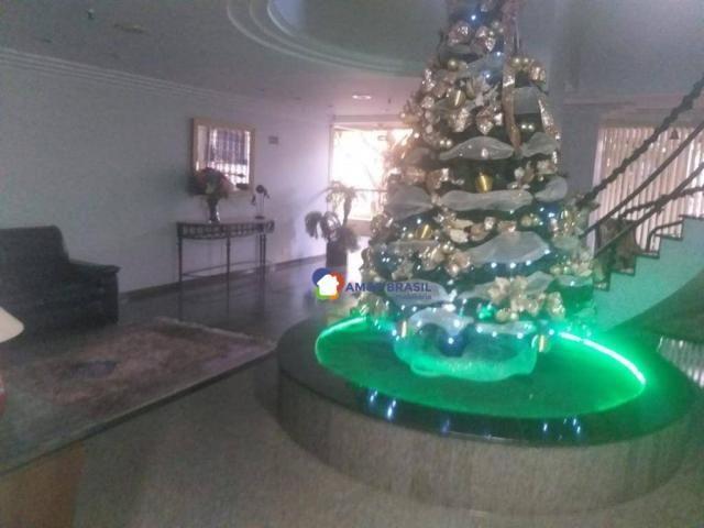 Apartamento com 4 dormitórios à venda, 261 m² por R$ 850.000,00 - Setor Oeste - Goiânia/GO - Foto 17