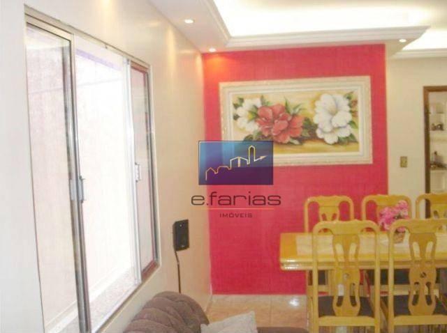 Sobrado com 4 dormitórios à venda, 138 m² por R$ 480.000,00 - Jardim Santa Maria - São Pau - Foto 4