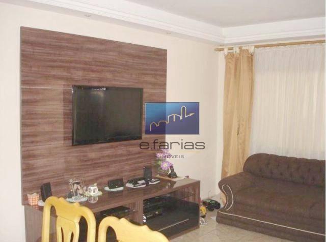 Sobrado com 4 dormitórios à venda, 138 m² por R$ 480.000,00 - Jardim Santa Maria - São Pau - Foto 2