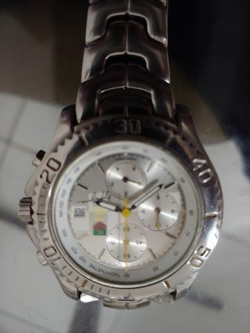 2ae8602a580 Relógio   Série Limitada  -Ayrton Senna - Relíquia - Bijouterias ...