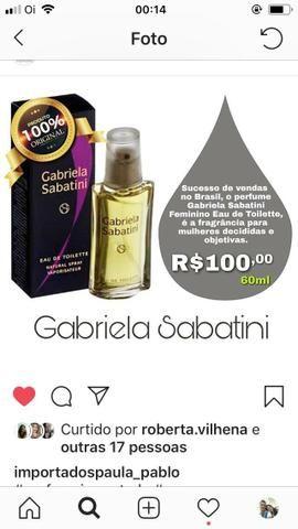 Perfume Gabriela Sabatini original