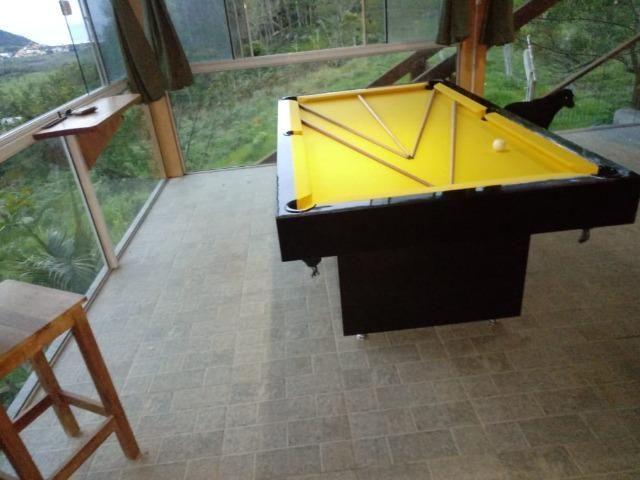 Mesa Sedução Semi Cor Preta Tecido Amarelo Mod. WPKW0337 - Foto 3