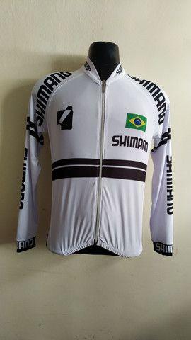 Camisa ciclista para sua equipe personalize a sua  - Foto 2