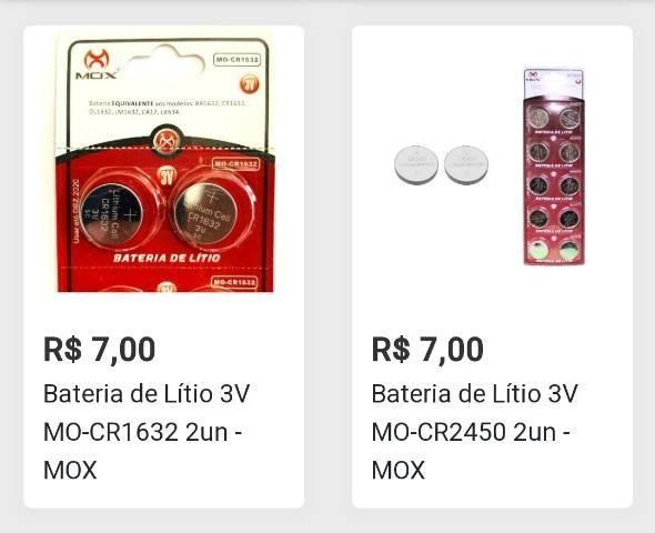 2 Pilhas Baterias de Lítio Para Controle Remoto, Alarme de Carro, PC, Relógios e outros - Foto 4