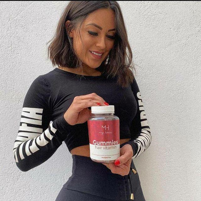 Goma de crescimento capilar e outra vitaminas - Foto 3
