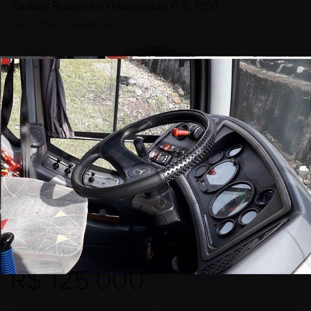 ônibus rodoviário marcopolo g 6 1050 - Foto 5