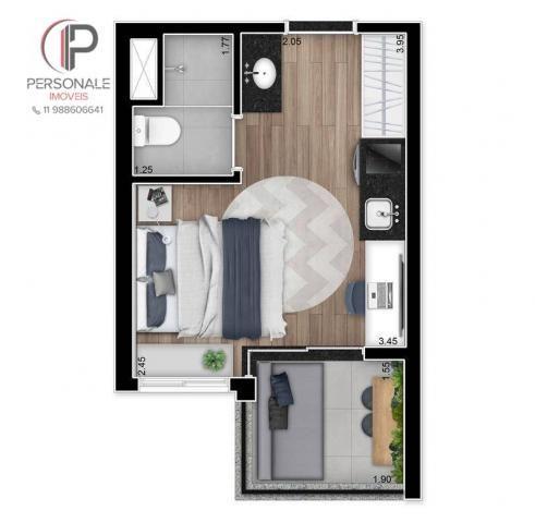 Studio com 1 dormitório à venda, 21 m² por R$ 340.990,00 - Vila Madalena - São Paulo/SP - Foto 6