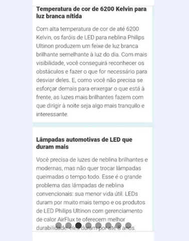 LED Ultinon Philips