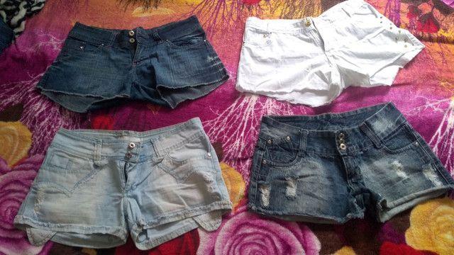 Shorts, Bermudas, Calças e Blusas 35,00