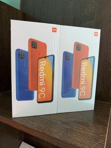 Novos - Xiaomi Redmi 9C Versão Global 6,53 polegadas 64GB 5000mAh